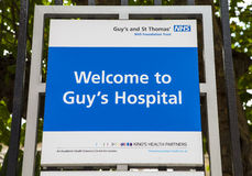 Guys Hospital in London Stock Photography