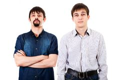 Guys Portrait isolated stock photography