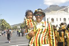 Kaapse Klopse -parade in Cape Town -2019 royalty free stock images