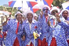 Kaapse Klopse -parade in Cape Town -2019 royalty free stock photos