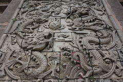 Guzhen miasteczko, Anju, Chongqing, Chiny Zdjęcia Royalty Free