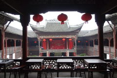 Guzhen miasteczko, Anju, Chongqing, Chiny Zdjęcia Stock