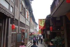 Guzhen-Stadt, Anju, Chongqing, China Lizenzfreies Stockfoto