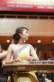 Guzheng actress zhanglei in the performance Stock Image