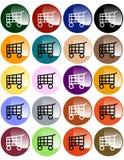 guzików fury zakupy Fotografia Stock