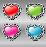 guzików miłości wektor Fotografia Stock