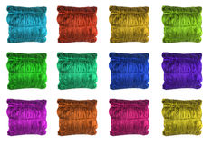 guzików poduszki strona internetowa zdjęcie stock
