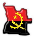 guzik angoli flagi mapy kształt Obrazy Stock
