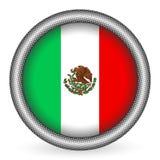 guzik chorągwiany Mexico Obrazy Stock