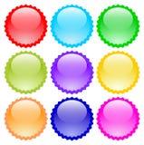 Guzik ikon wektorowy kolor eps fotografia royalty free