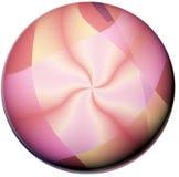 guzik różowy kwiat ilustracja wektor
