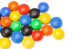 guzika cukierków czekolada kolorowa Zdjęcie Stock