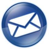 guzika email Obrazy Stock
