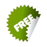 guzika majcher bezpłatny zielony Fotografia Stock