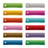 guziki śliwek ilustracyjną ścieżka sieci wektora Obraz Stock