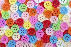 guziki barwią wielo- Obraz Royalty Free