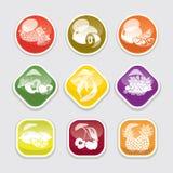 guziki fruit glansowany Obrazy Stock
