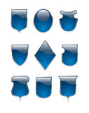 guziki kształtująca osłona Obrazy Stock
