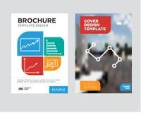 Guzków związków interfejsu broszurki ulotki projekta szablon Obraz Stock
