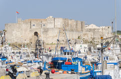 Guzman el bueno castle, Tarifa, Cadiz, Spain Royalty Free Stock Photos