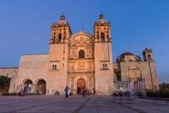 Guzman kerk van Santo Domingo DE Oaxaca, Mexico stock fotografie