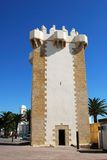 Guzman tower, Conil de la Frontera. Stock Photo