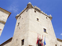Guzmanes tower in Avila Stock Photo
