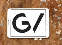 GV, Google затует логотип Стоковое Фото