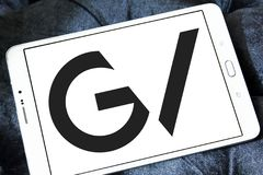 GV, Google rischia il logo Immagini Stock Libere da Diritti