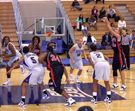 GW v Gtown. Gardner Webb player shooting from the foul line Stock Photo
