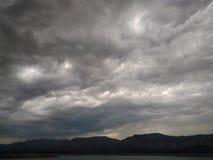 Gwałtowny niebo Zdjęcia Stock