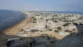 Gwadar stad balochistan royaltyfri fotografi
