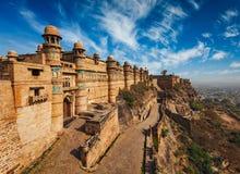 Gwalior fort zdjęcie royalty free