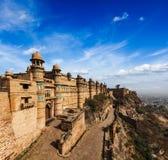 Gwalior fort fotografering för bildbyråer