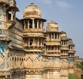 Gwalior Fort - Gwailor - India Stock Photo