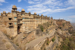 Gwalior fort in India. Royalty Free Stock Photos