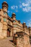 Gwalior fort Royalty Free Stock Photo