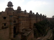 Gwalior fort. Maan singh mahal Stock Photography