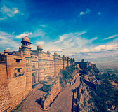 Gwalior fort Royalty Free Stock Photography