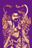 Gwan Gung dios de la guerra Fotos de archivo