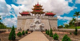 Gwan Yin Statue royaltyfri fotografi