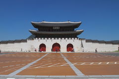 Gwang Hwa Mun Gate Seoul Imagem de Stock
