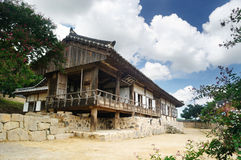 GwanGaJeong, Korean Traditional House in Yangdong Village Royalty Free Stock Image