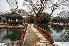 Gwanghalluwon Pavilion Royalty Free Stock Photo