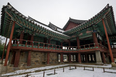 Gwanghalluwon Pavilion Royalty Free Stock Image