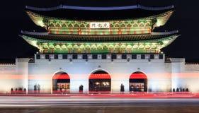 Gwanghwamu, maingate του παλατιού Gyeongbokgung στη Σεούλ Στοκ φωτογραφία με δικαίωμα ελεύθερης χρήσης