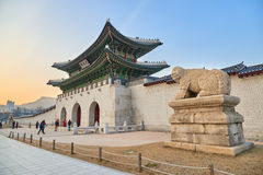 Gwanghwamun Gate Royalty Free Stock Photography