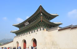 Gwanghwamun Gate Seoul Korea royalty free stock image