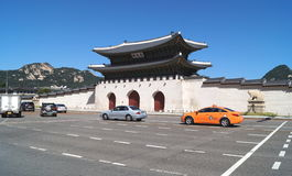 Gwanghwamun Gwanghwa Gate. The main gate of the Gyeongbokgung Palace. stock image