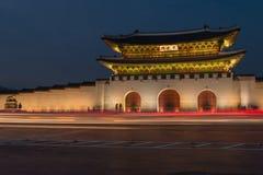 Gwanghwamun port Arkivbild